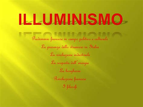 illuminismo francese illuminismo
