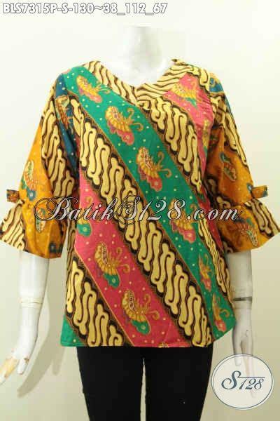 Parang Kupu blus batik elegan parang kupu baju batik a simetris