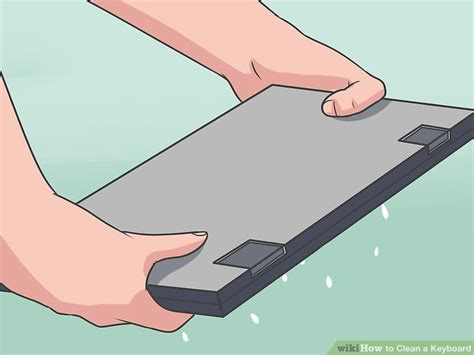 Using Hair Dryer To Clean Pc 4 ways to clean a keyboard wikihow