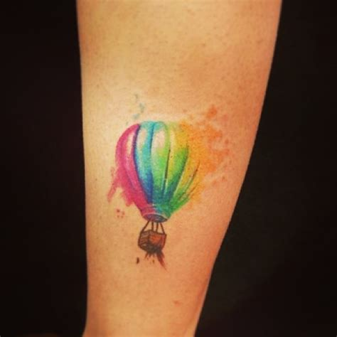 hot air balloon tattoo designs 50 best balloon tattoos design and ideas