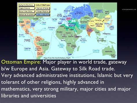 ottoman empire 1500 world at 1500 intro empires and trade patterns