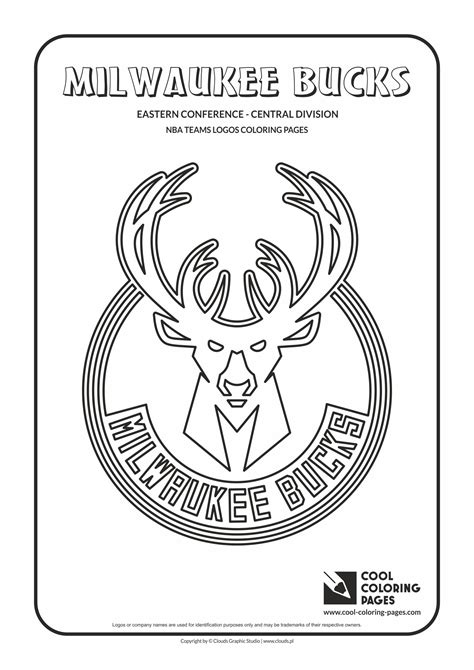 milwaukee bucks coloring pages learny kids