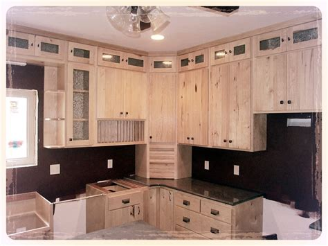 kitchen wood furniture rustic hickory kitchen cabinets manicinthecity