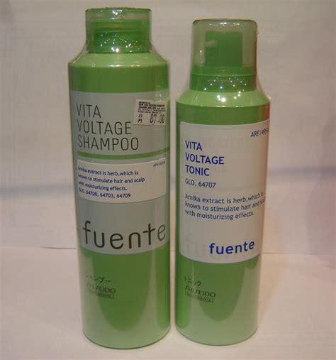 Hair Tonic Shiseido shiseido fuente vita shoo voltage tonic reduce hair