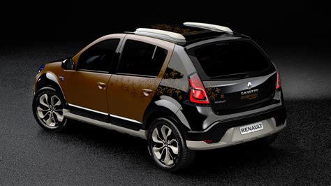 renault sandero stepway black renault sandero stepway concept features photos