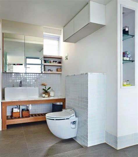 Bathroom Vanity Makeover Ideas 7 simple but modern hdb flat bathroom designs home