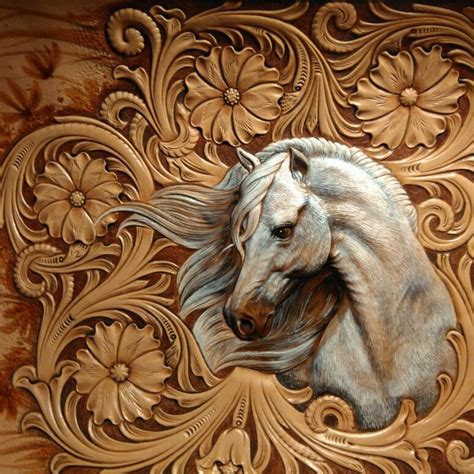 Carving Leather best 25 leather carving ideas on leather