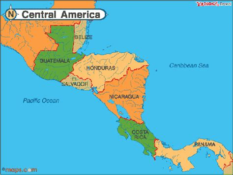 central america map with states and capitals map of central america with capitals driverlayer search