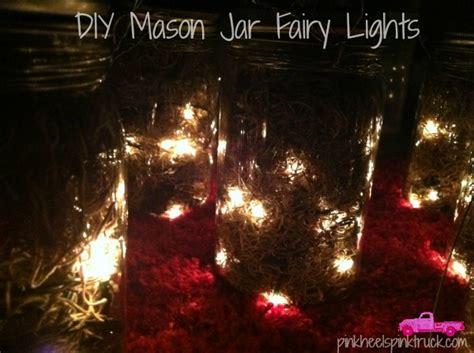 how to make mason jar lights with christmas lights how to make mason jar lights with christmas lights