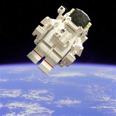 lego astronaut based on the nasa photo of u s astrona flickr