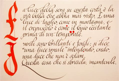 lettere corsivo scrittura italico la calligrafia corsiva delle