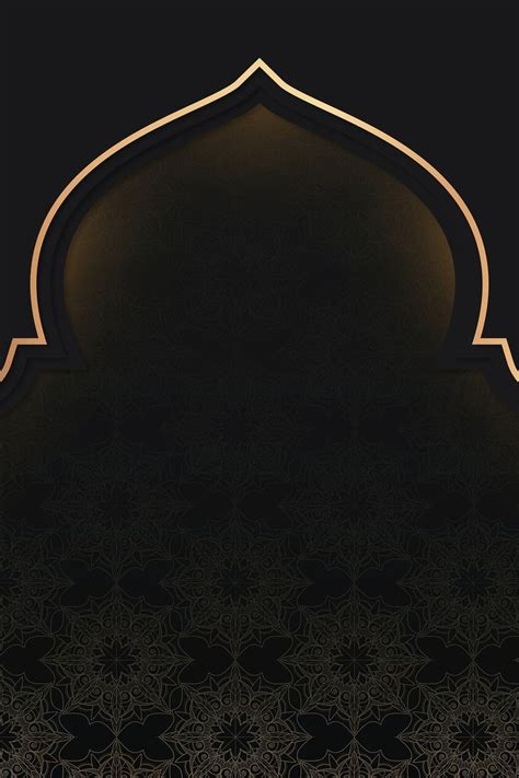 premium vector  golden eid mubarak frame design vector  eid mubarak frame