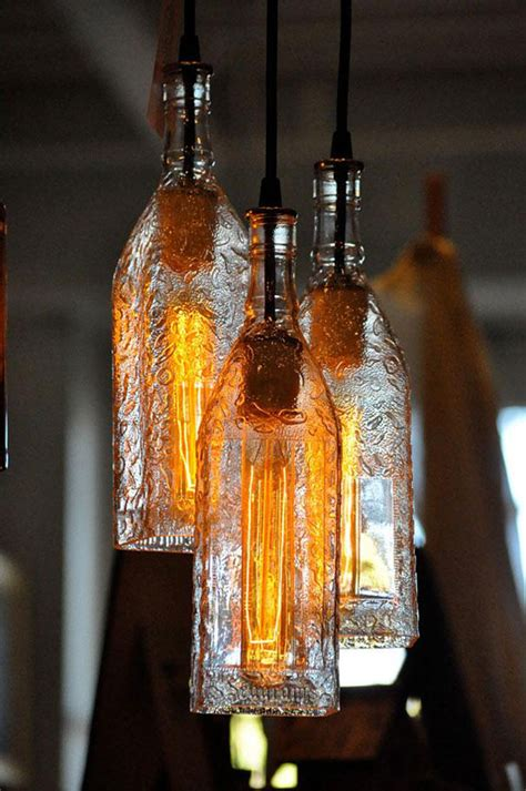 6 Smart Ideas To Use Wine Bottles As Tree House Lights Ls Crafts Using Lights