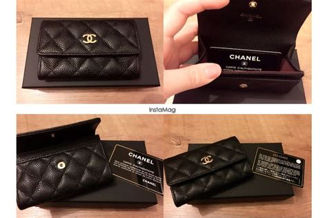 Card Holder Chanel chanel caviar card holder from i got no idea what to