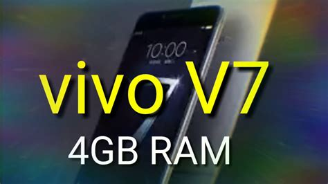 Vivo V7 Plus Smartphone vivo v7 plus smartphone review specifications price in