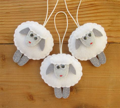 home decor ornaments felt sheep ornaments christmas tree decorations home decor