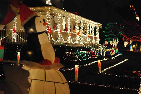 this man lights up raleigh happyland christmas lights a