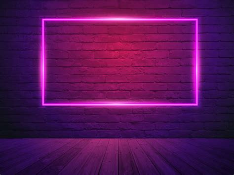 vector brick wall room background vector premium