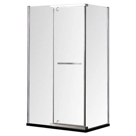 Rona Glass Shower Doors Quot Salto Quot Reversible Shower Door 32 Quot X 40 Quot Rona
