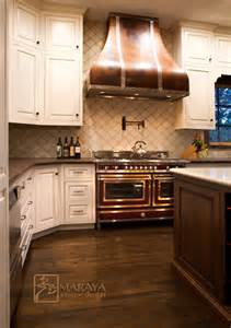italian white kitchen copper hood mediterranean kitchen other metro by maraya interior