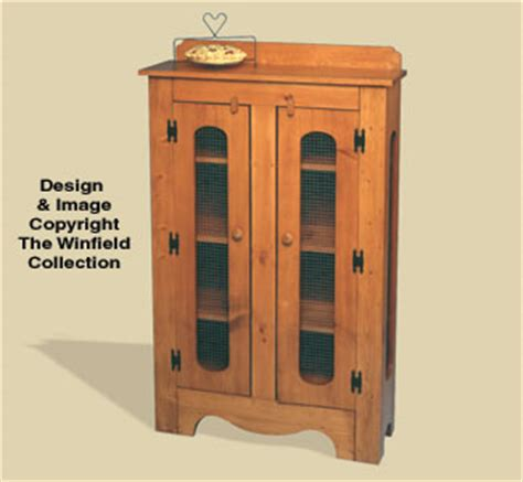 pattern old fashioned hutch all wholesale pie safe woodworking plan