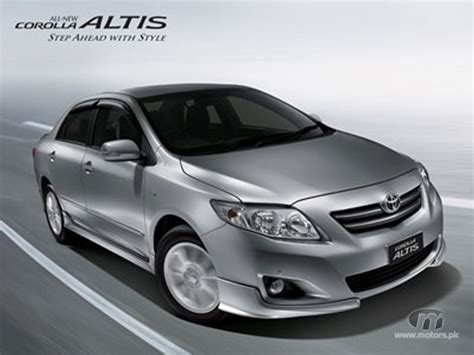 Toyota Altis 2012 Price New Cars Prices Motors Pk