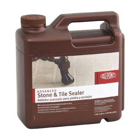 Tile Sealer Shop Dupont 1 Gallon Advanced Tile Sealer At Lowes