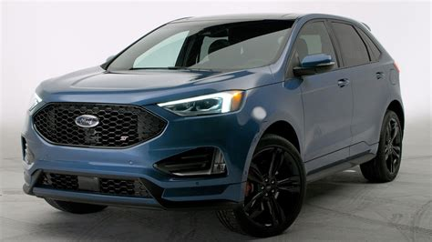 ford edge crossover 2019 ford edge st is a serious performance focused