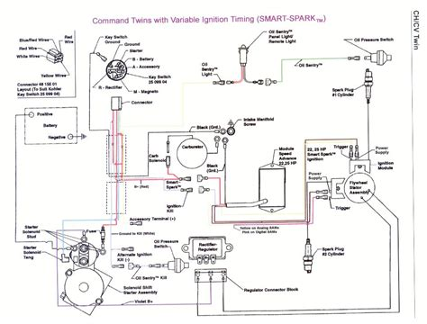wiring diagram kohler model k301 wiring diagram and