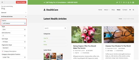 change layout of wordpress blog page content layouts total wordpress theme
