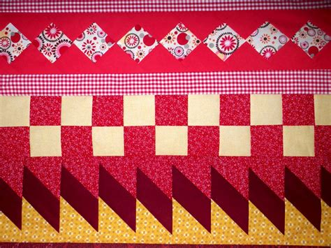 Seminole Patchwork Patterns - orange explains it all yellow orange