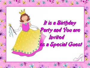kids birthday invitations post card from 365greetings com