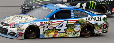 busch light trophy can 2017 harvick finishes 15th at talladega kevin harvick