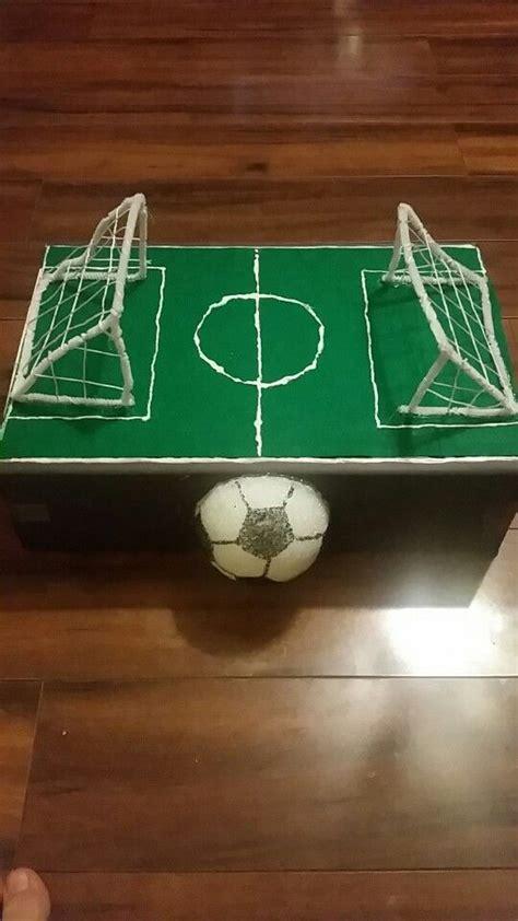 Soccer Fieldlentines Box Lby D Pinterest