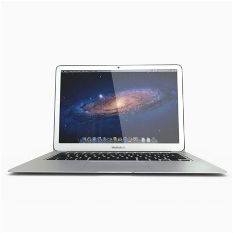 Macbook Air Replika apple macbook air 11 inch 2012 3d model max obj fbx c4d cgtrader