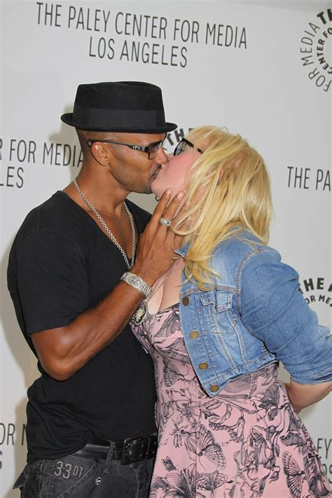 shemar moore and kirsten vangsness at the 2011 paleyfest