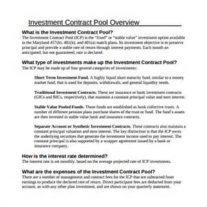 investor contract template free investment contract template 7 free sle exle