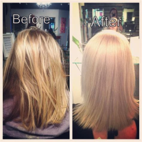 pin by jerome powell on haircare hairstyles pinterest going platinum new blonde before and after hairs by