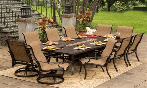 cast iron dining room set outdoor patio furniture dining
