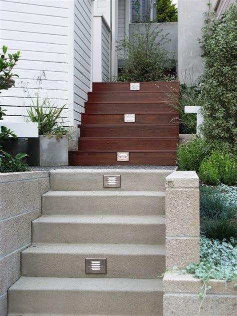 Backyard Stairs by Outdoor Stairs Home Design Ideas Pictures Remodel And Decor