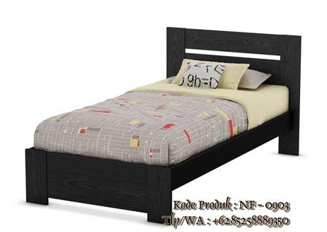Tempat Tidur Kayu Single tempat tidur anak minimalis kayu jati harga murah