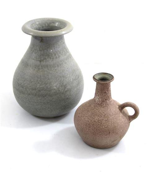 Ceramic Vases Large Ceramic Vases Studio Pottery Two Beautifully Made Vintage