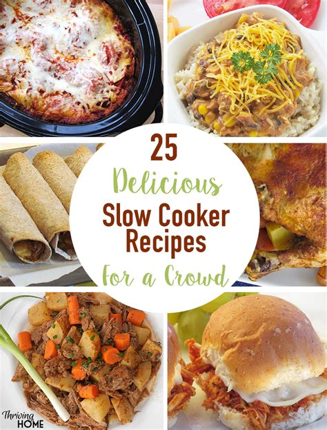 best 25 cooking for a crowd ideas on pinterest recipes 25 delicious slow cooker recipes that feed a crowd