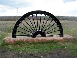 Pit On Wheels Parkhill Pit Wheel 169 Mike Kirby Geograph Britain And