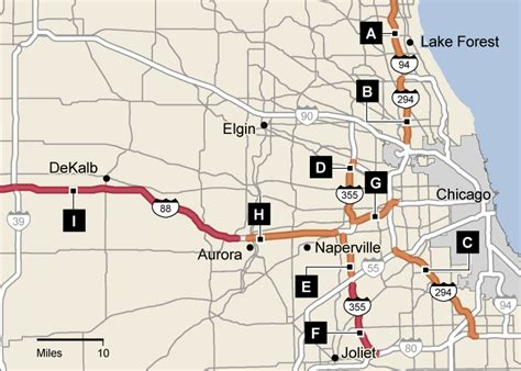 illinois tollway map how drivers speed on the illinois tollway map chicago tribune