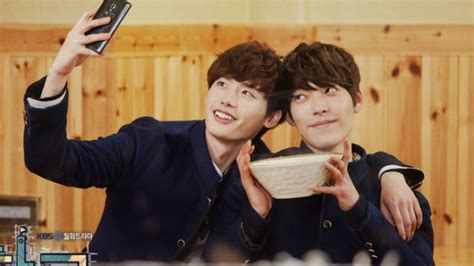 drama lee jong suk kim woo bin trugen picked which k drama hotties to be their new top