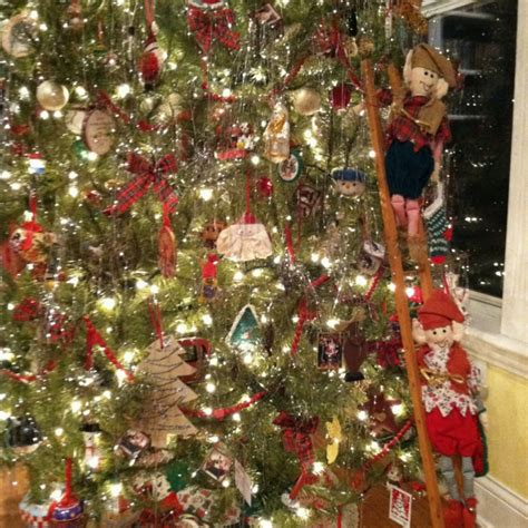 elves decorating the family tree christmas pinterest