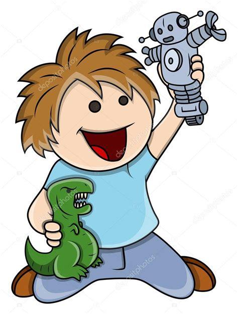 dibujos niños jugando con juguetes ni 241 o jugando con juguetes ilustraci 243 n de dibujos