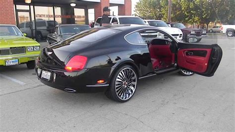 white bentley convertible red interior bentley continental gt on 22 inch autonomo forgiatos youtube