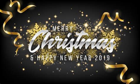 merry christmas  happy  year  greeting card background vector premium